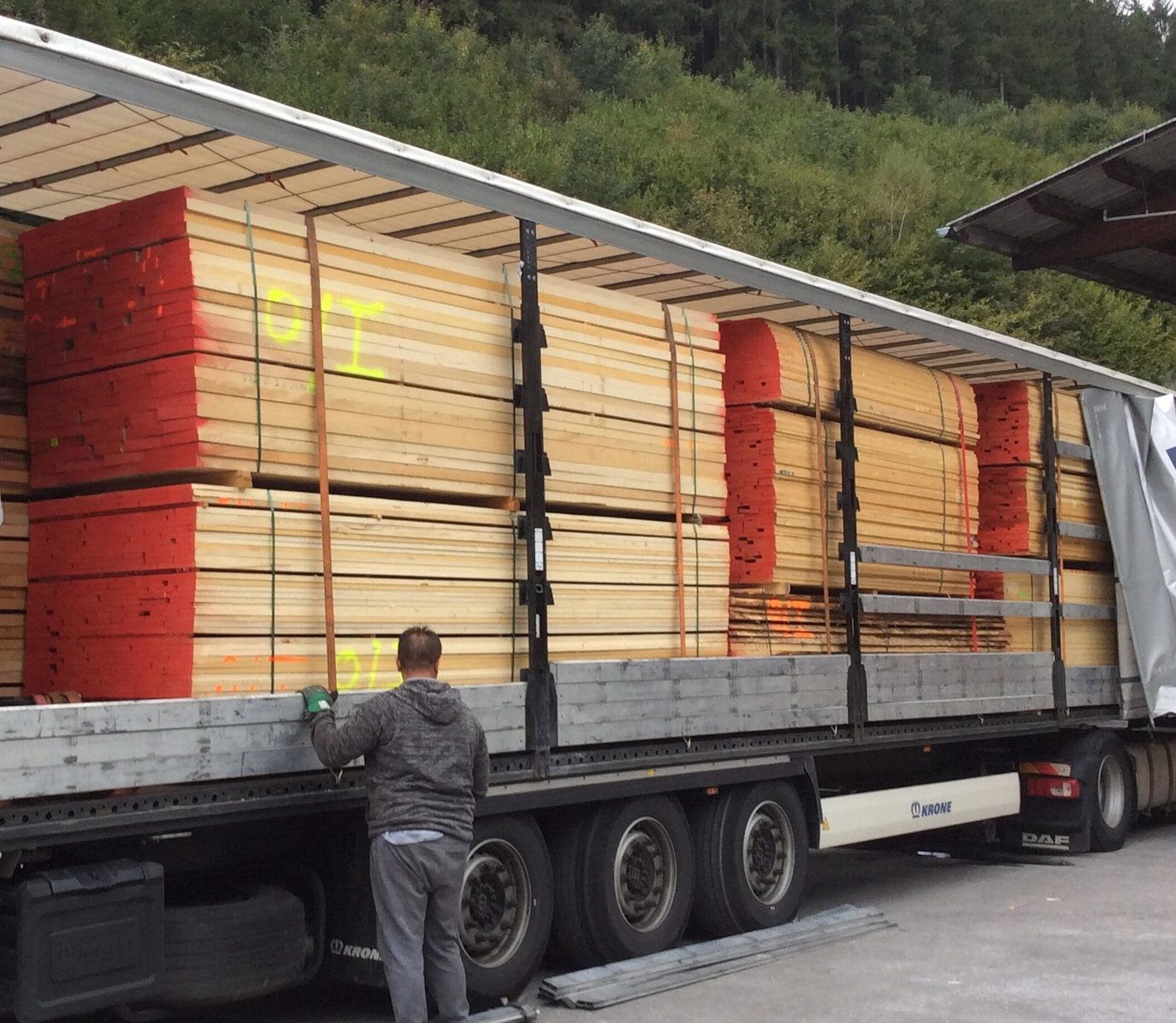 Truck from Riegler Timber Trading